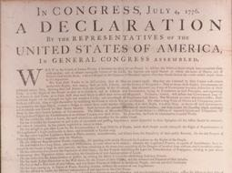 Dunlap Broadside and Constitution Drafts Coming to the DAR Museum